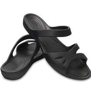 Crocs Kelli Sandal. Women's Black